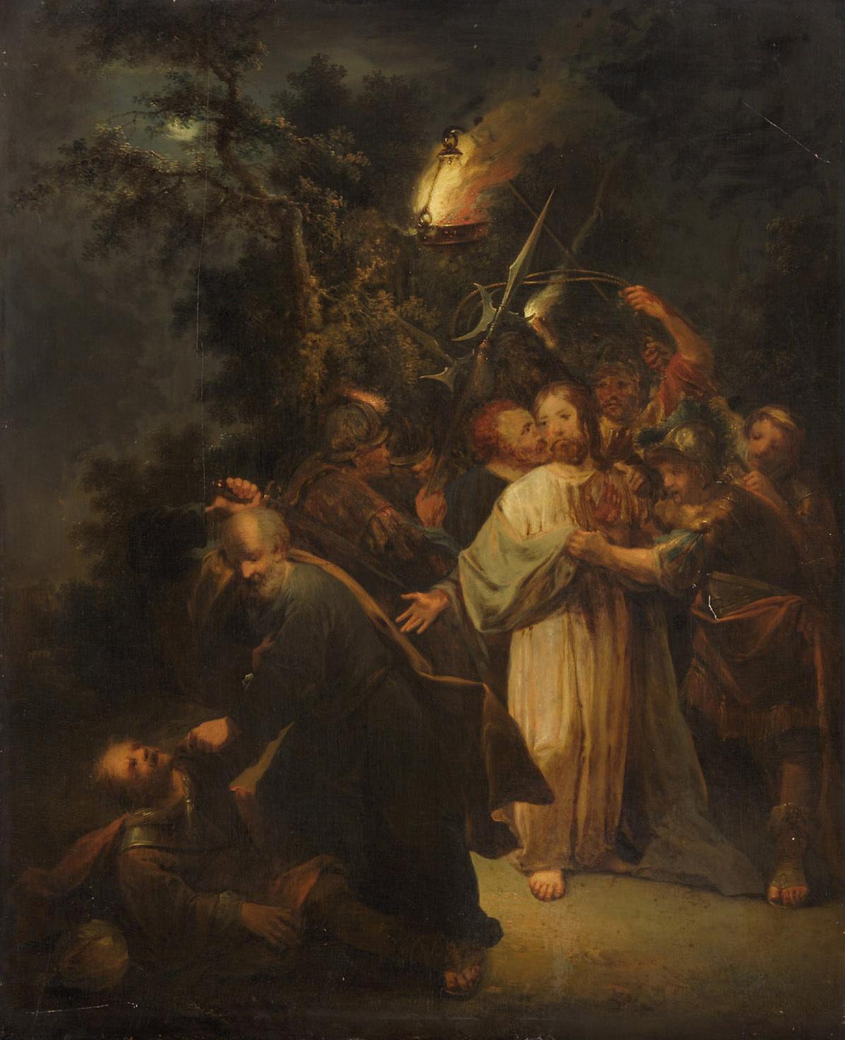 Gefangennahme Christi von Johann Conrad Seekatz