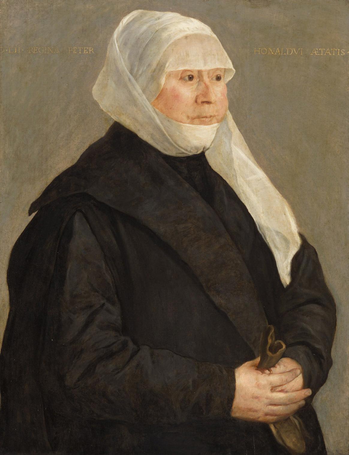 Regina von Stetten (1499-1562), Gemahlin des Peter Honold von Süddeutsch