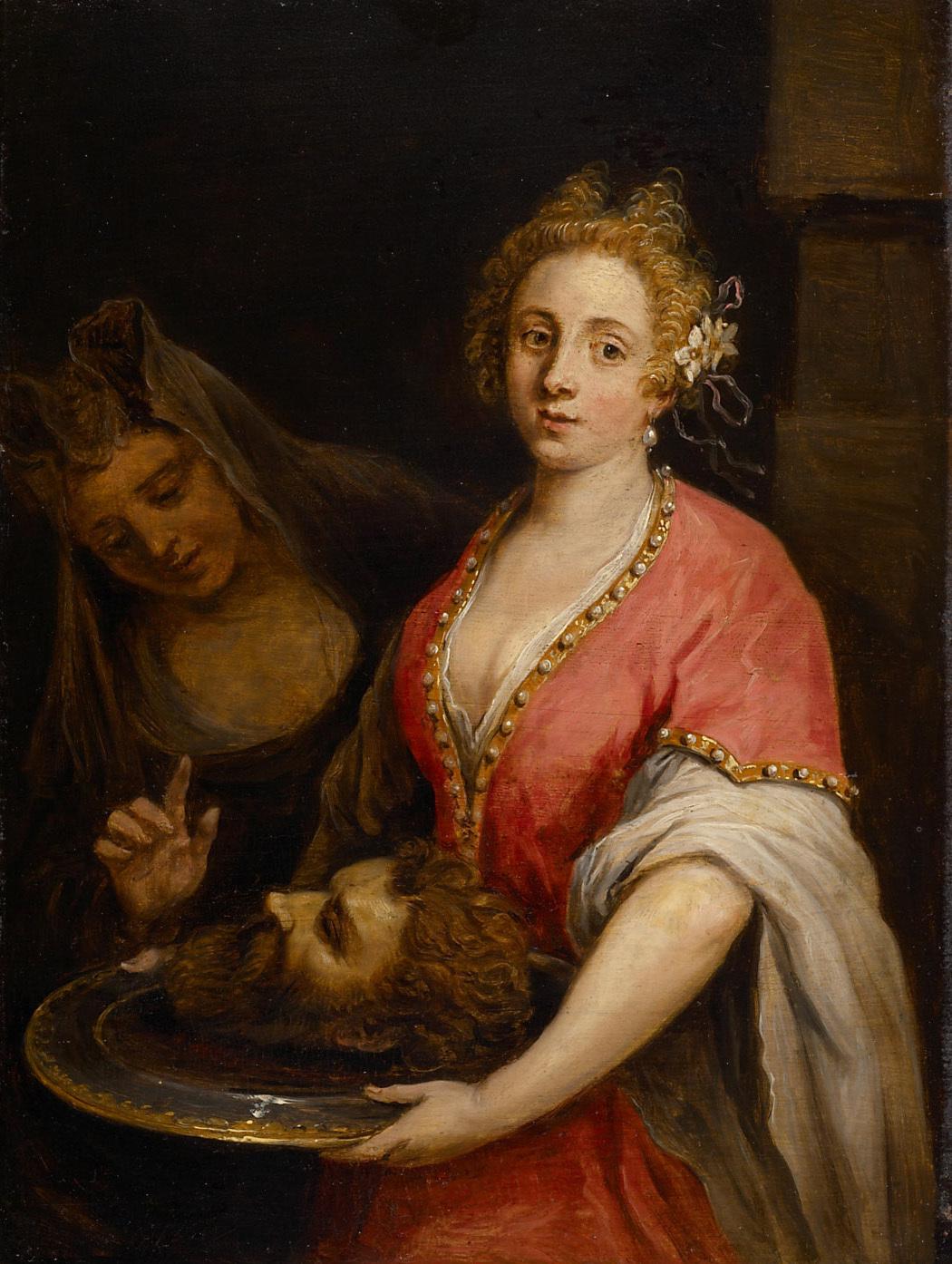 Salome mit dem Haupt Johannes des Täufers von David Teniers d. J.