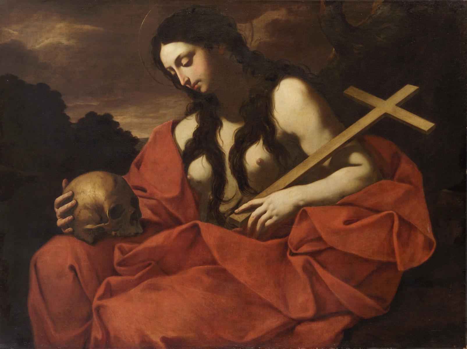 Büßende Maria Magdalena von Flaminio Torri