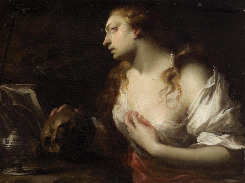 Büßende Maria Magdalena von Francesco Trevisani