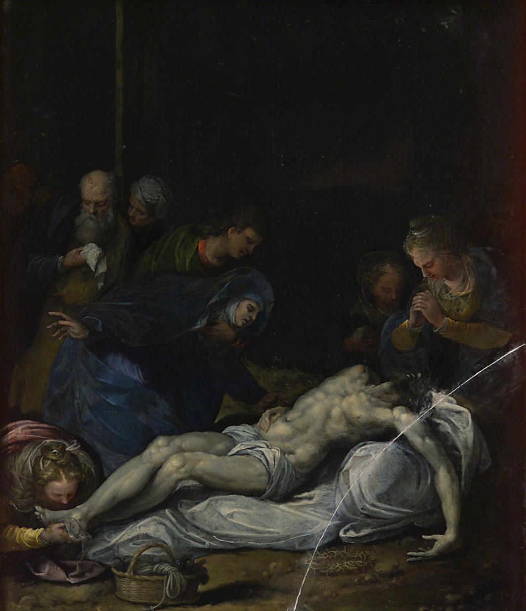Kreuzabnahme von Alessandro Turchi, gen. L'Orbetto