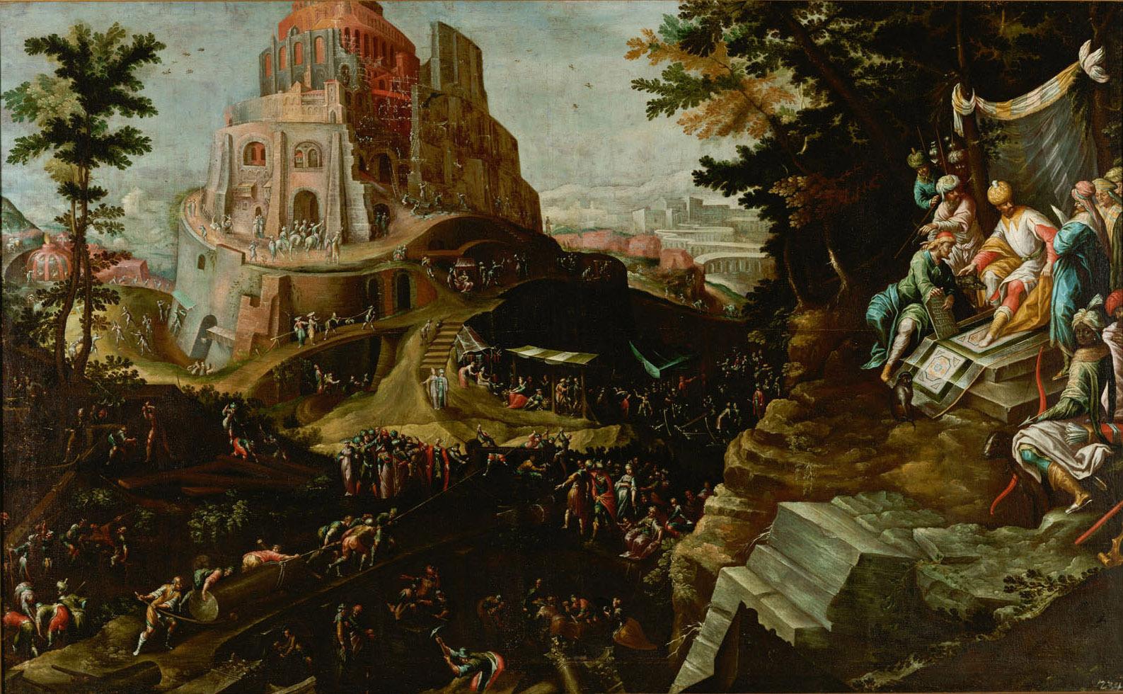 Turmbau zu Babel von Frederik I. van Valckenborch