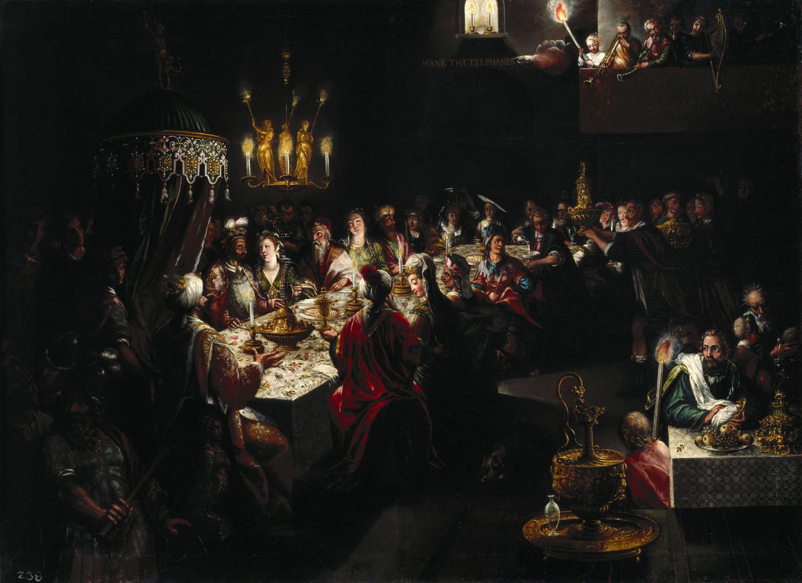 Gastmahl des König Belsazar von Deutsch