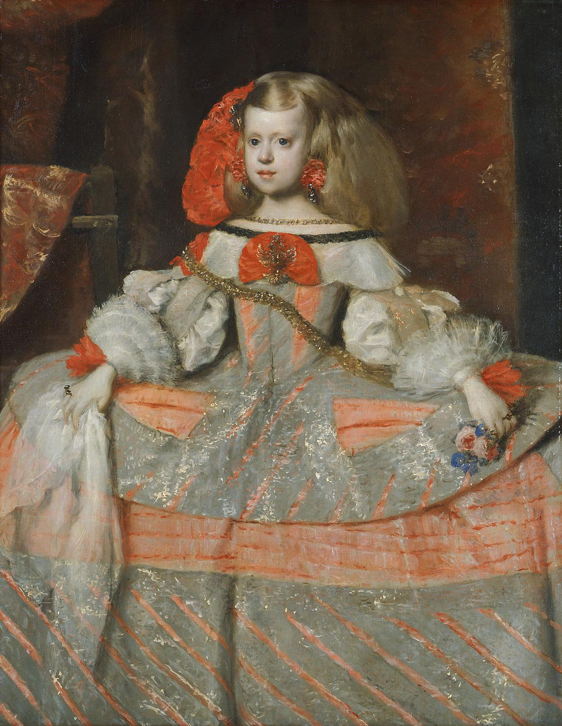 Infantin Margarita Teresa (1651-1673) von Juan Bautista Martinez del Mazo