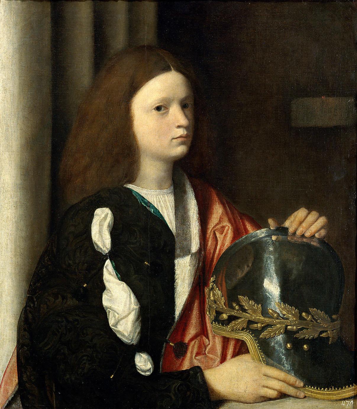 Bildnis des Francesco Maria I. della Rovere von Giorgio da Castelfranco, gen. Giorgione