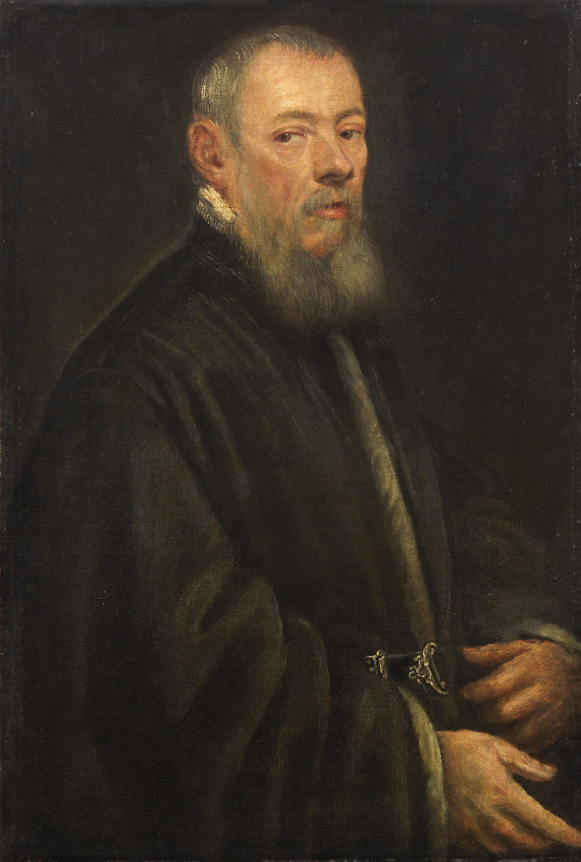 Bildnis eines graubärtigen Mannes von Venezianisch