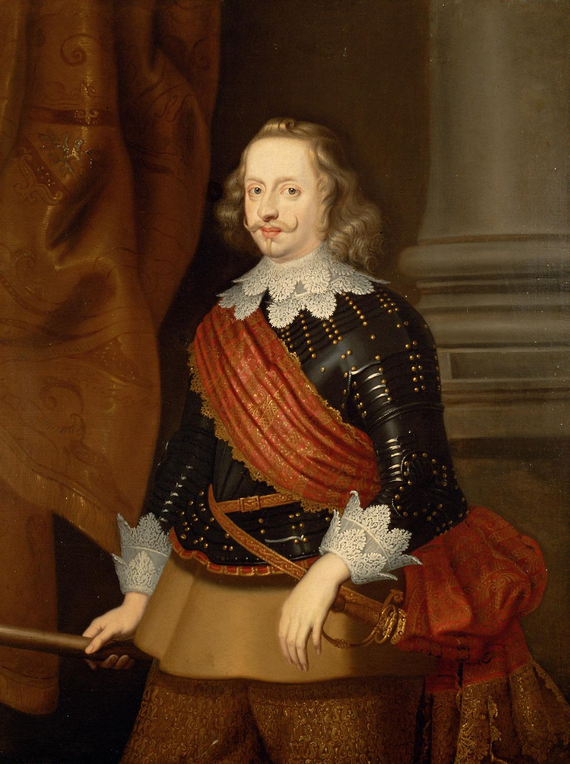 Kardinal-Infant Ferdinand (1609-1641) im Harnisch, Kniestück von Flämisch