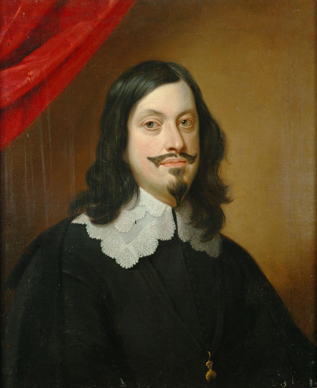 Kaiser Ferdinand III. (1608-1657), Brustbild von Jan van den Hoecke