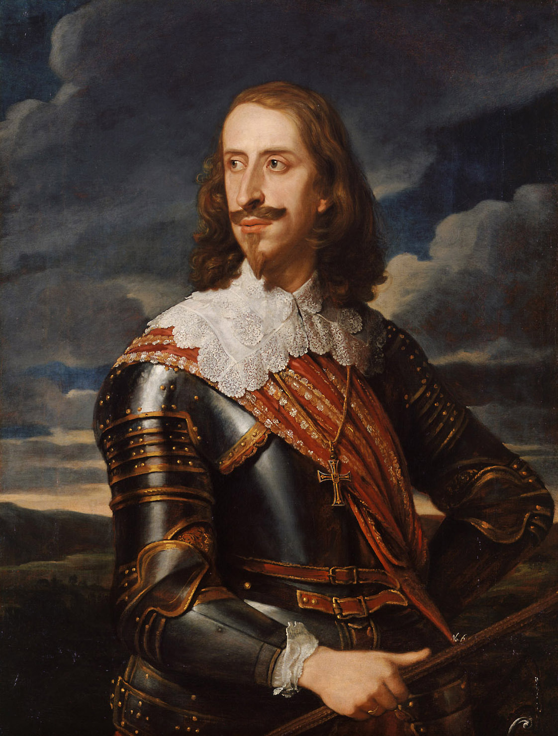 Erzherzog Leopold Wilhelm (1614-1662) im Harnisch von Jan van den Hoecke