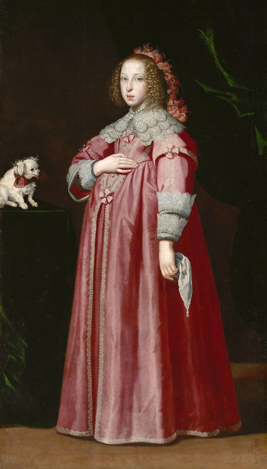 Erzherzogin Maria Leopoldine (1632-1649), 2. Gemahlin von Ferdinand III. von Lorenzo Lippi