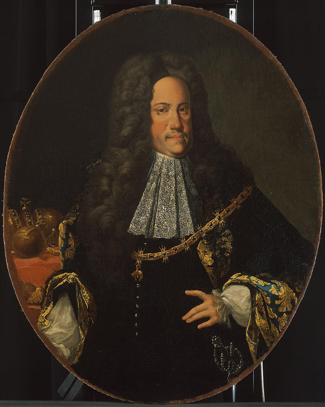 Kaiser Karl VI. (1685-1740), Halbfigur