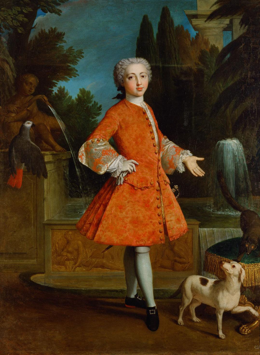 Herzog Louis-Philippe von Orleans (1725-1785) von Nicolas Delobel