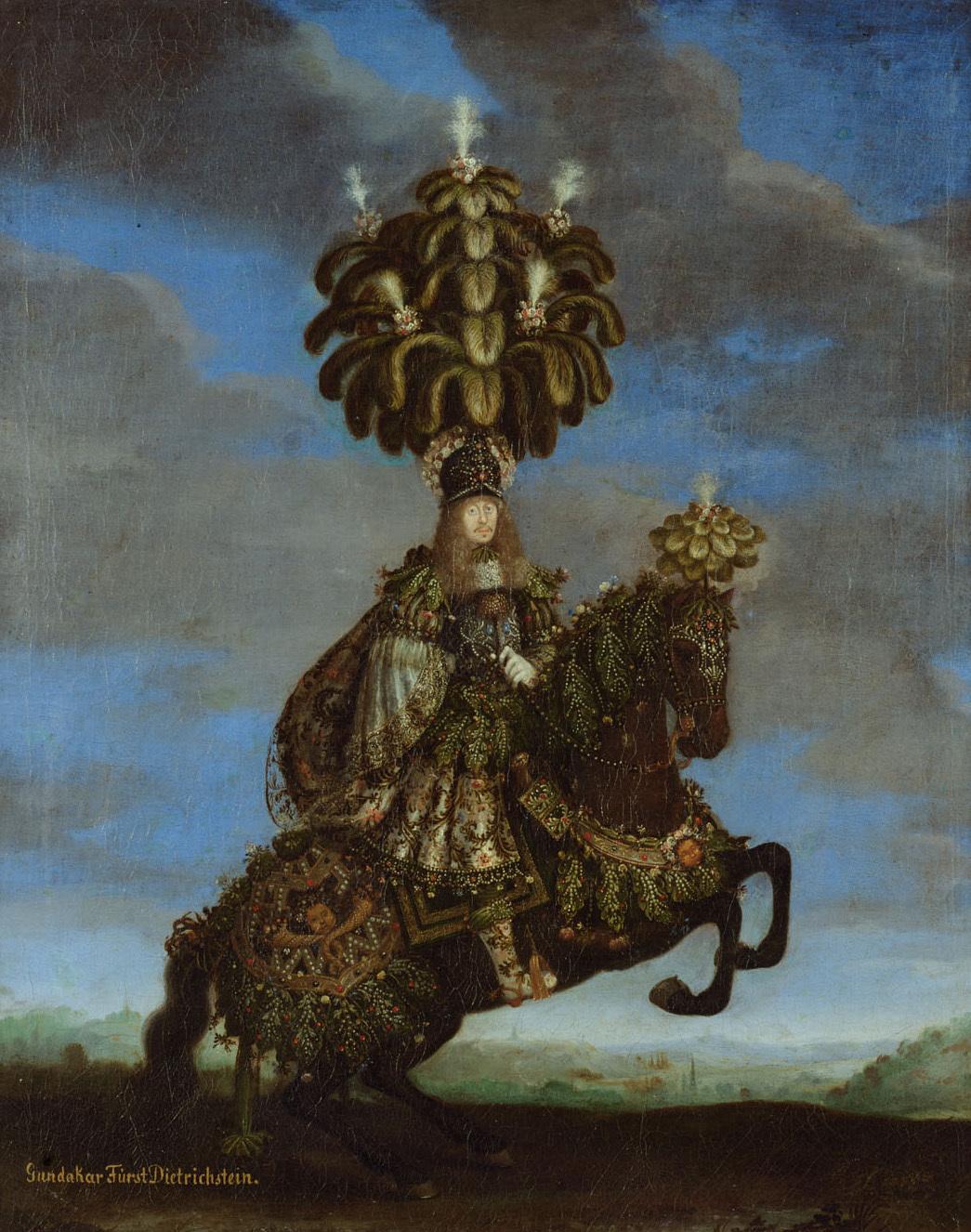 Gundakar Fürst Dietrichstein (1623-1690) von Jan Thomas