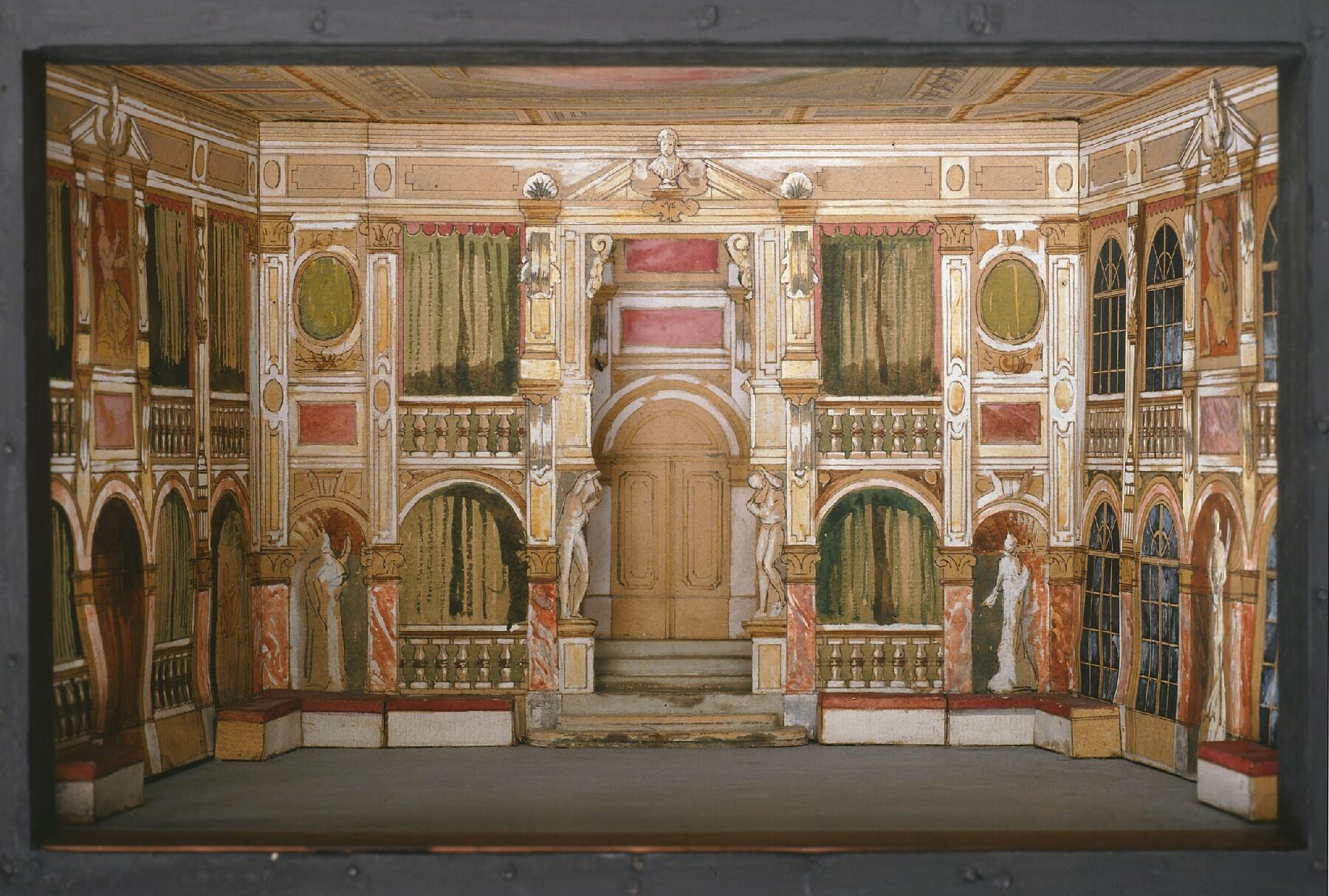 Die Verschwörung des Fiesko zu Genua von Heinrich Lefler