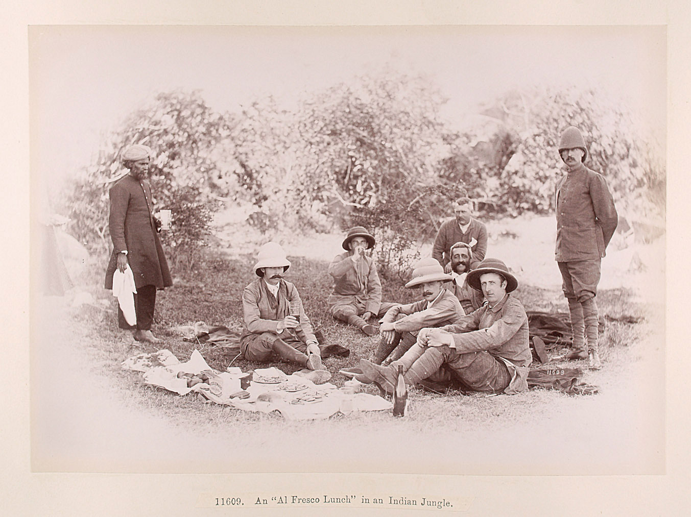 Tandur: Jagdfrühstück mit Franz Ferdinand von Lala Deen Dayal