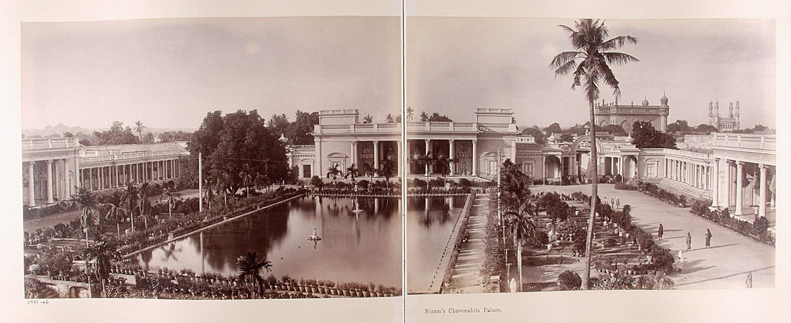 Hyderabad: Chowmahila-Palast des Nizam von Lala Deen Dayal