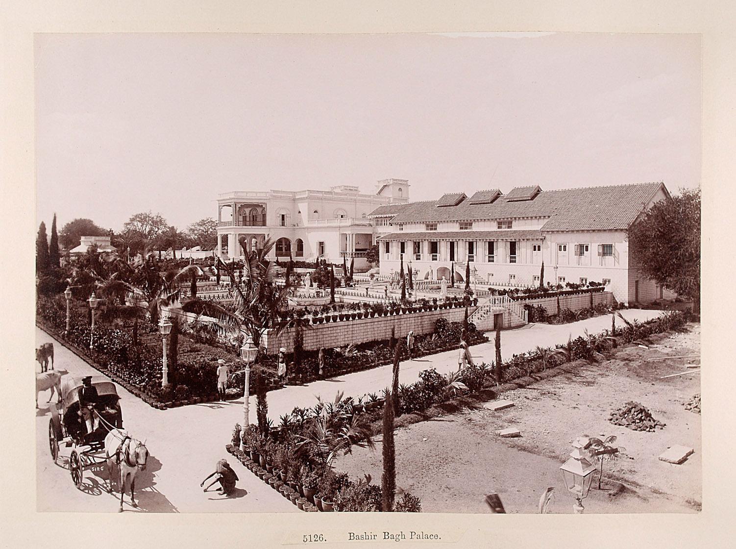 Hyderabad: Baschir Bagh Palast von Lala Deen Dayal