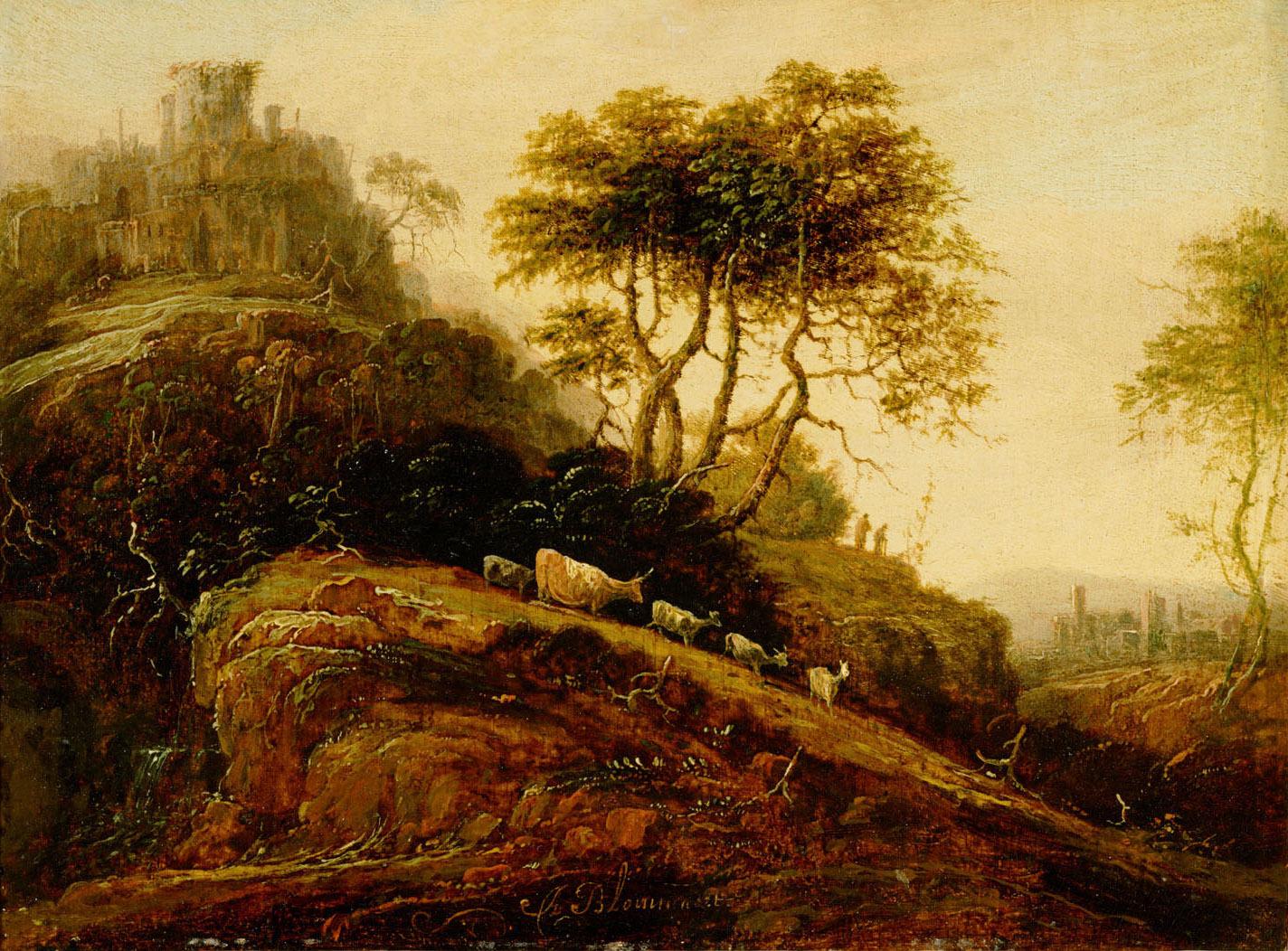 Berglandschaft von Adriaen Bloemaert