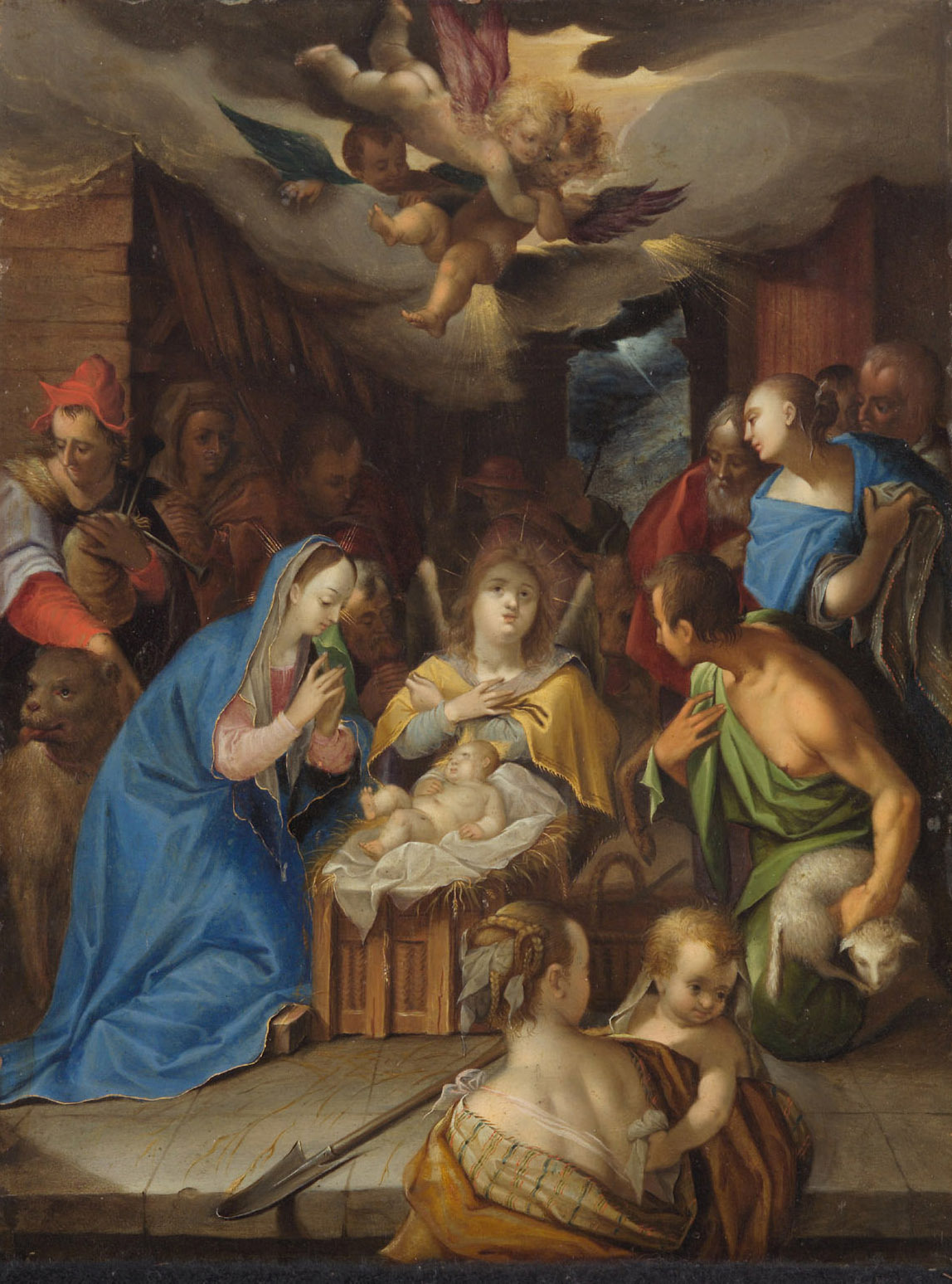 Anbetung der Hirten von Hans von Aachen