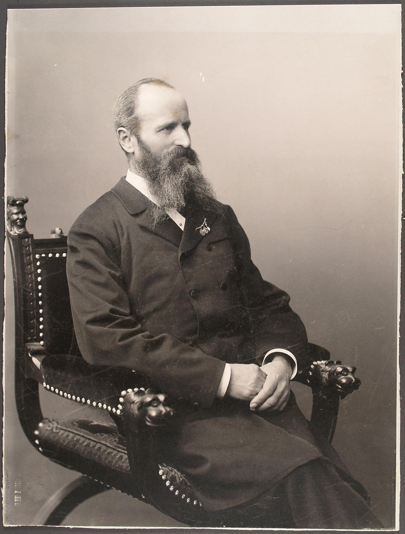 Porträt: Andreas Reischek, Kustos, Museum Linz