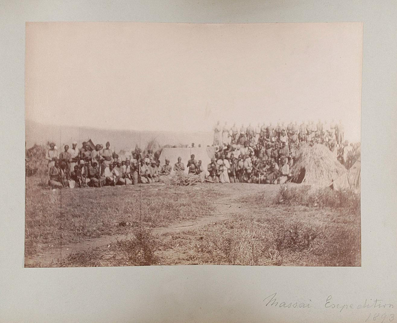 Massai Expedition 1893 von Oscar Baumann