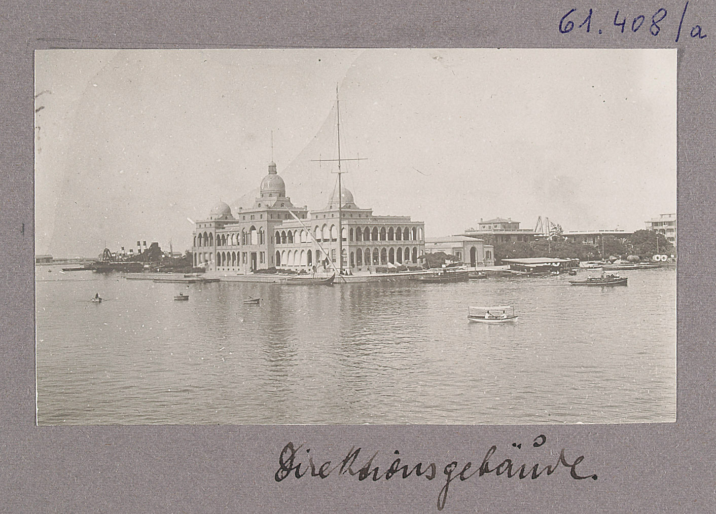 Port Said. Direktionsgebäude von Otto Uhlir
