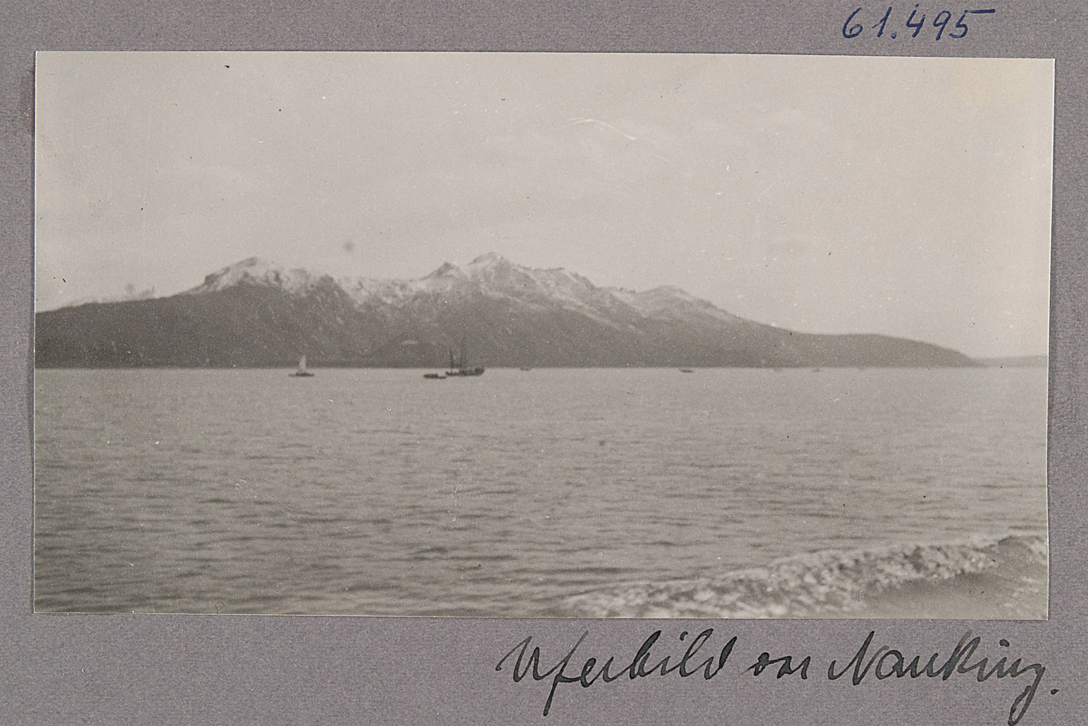 Der Yangtse. Uferbild von Nanking von Otto Uhlir