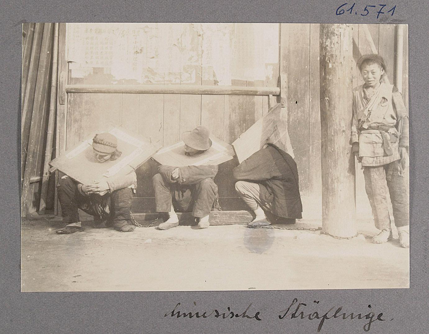 Chinesische Sträflinge von Otto Uhlir