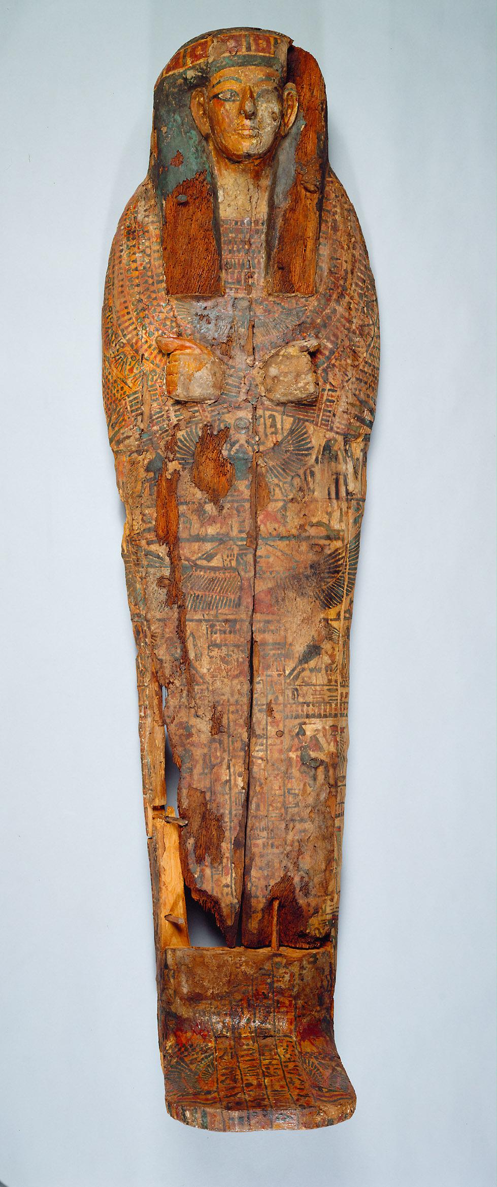 Mumienförmiger Innensarg des Su-sa-wer-chonsu
