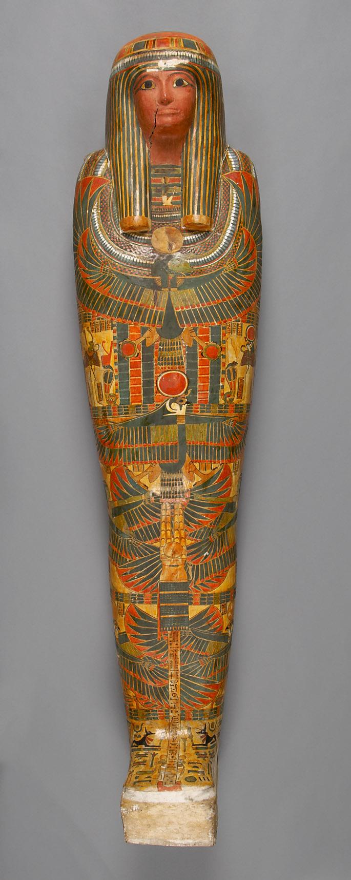 Mumie des Pa-di-set in Kartonagehülle