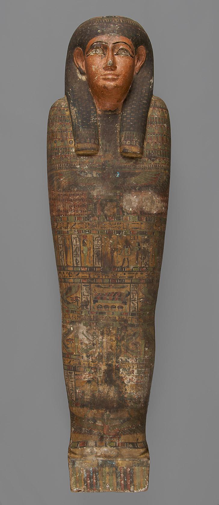 Mumienförmiger Innensarg der Nechet-iset-aru