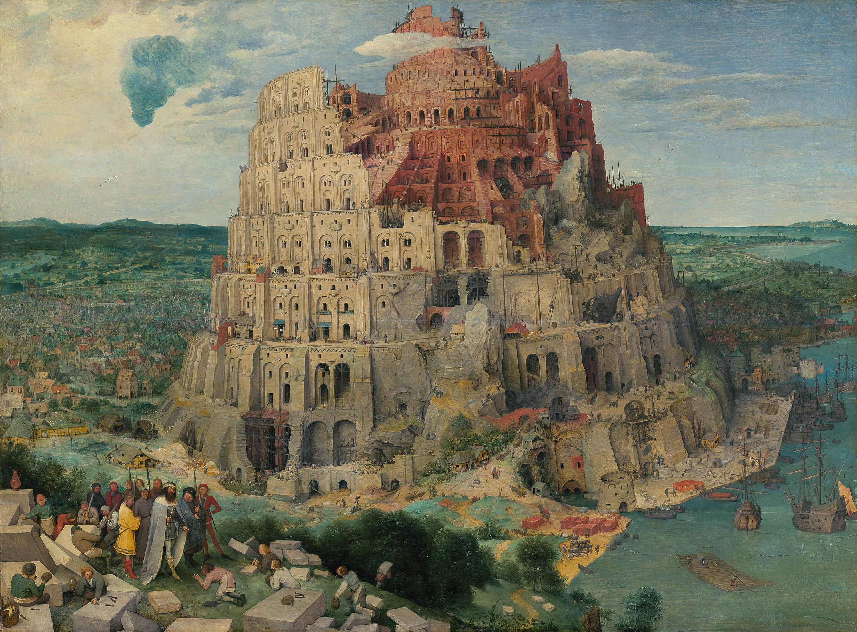 Turmbau zu Babel von Pieter Bruegel d. Ä.