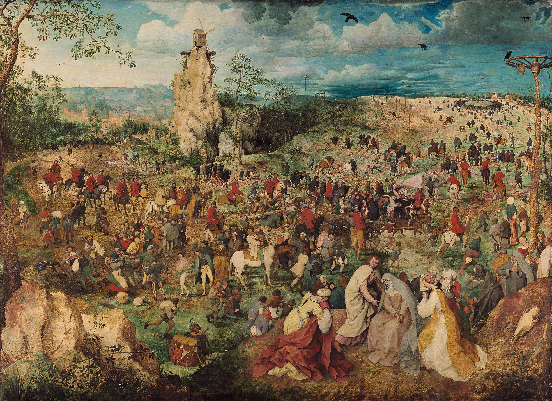 Kreuztragung Christi von Pieter Bruegel d. Ä.