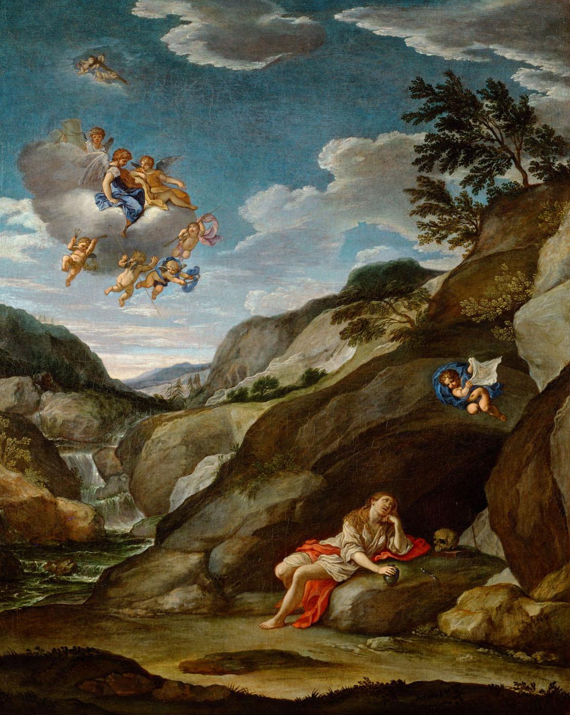 Büssende Maria Magdalena von Francesco Albani