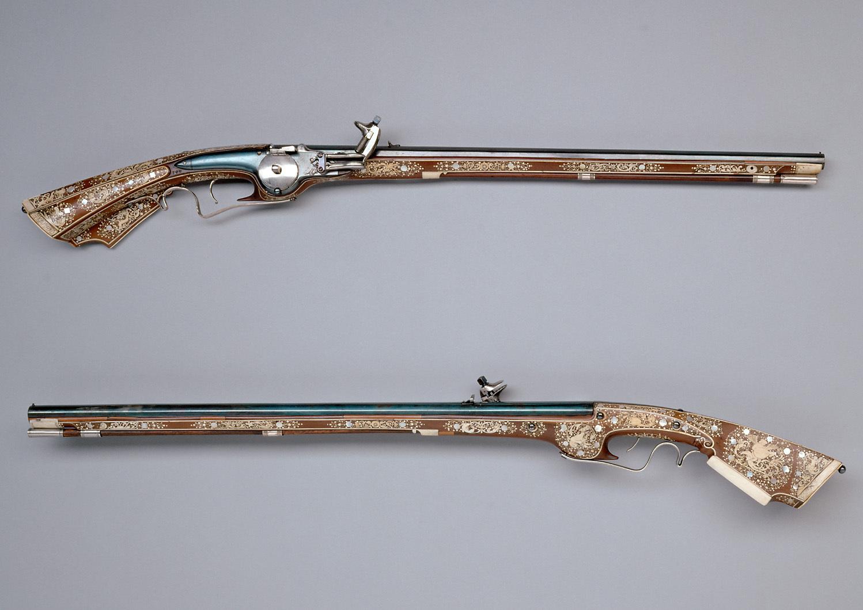 Kleines Reitergewehr mit Radschloss