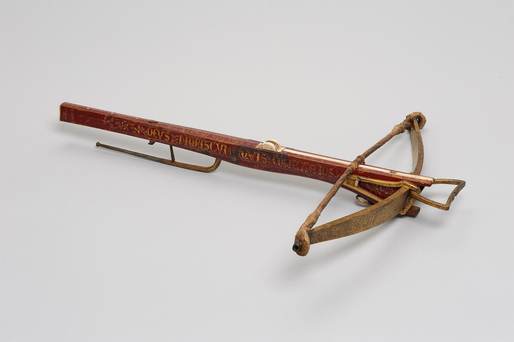 Jagdarmbrust von Kaiser Maximilian I. Sohn d. Friedrich III. von Habsburg