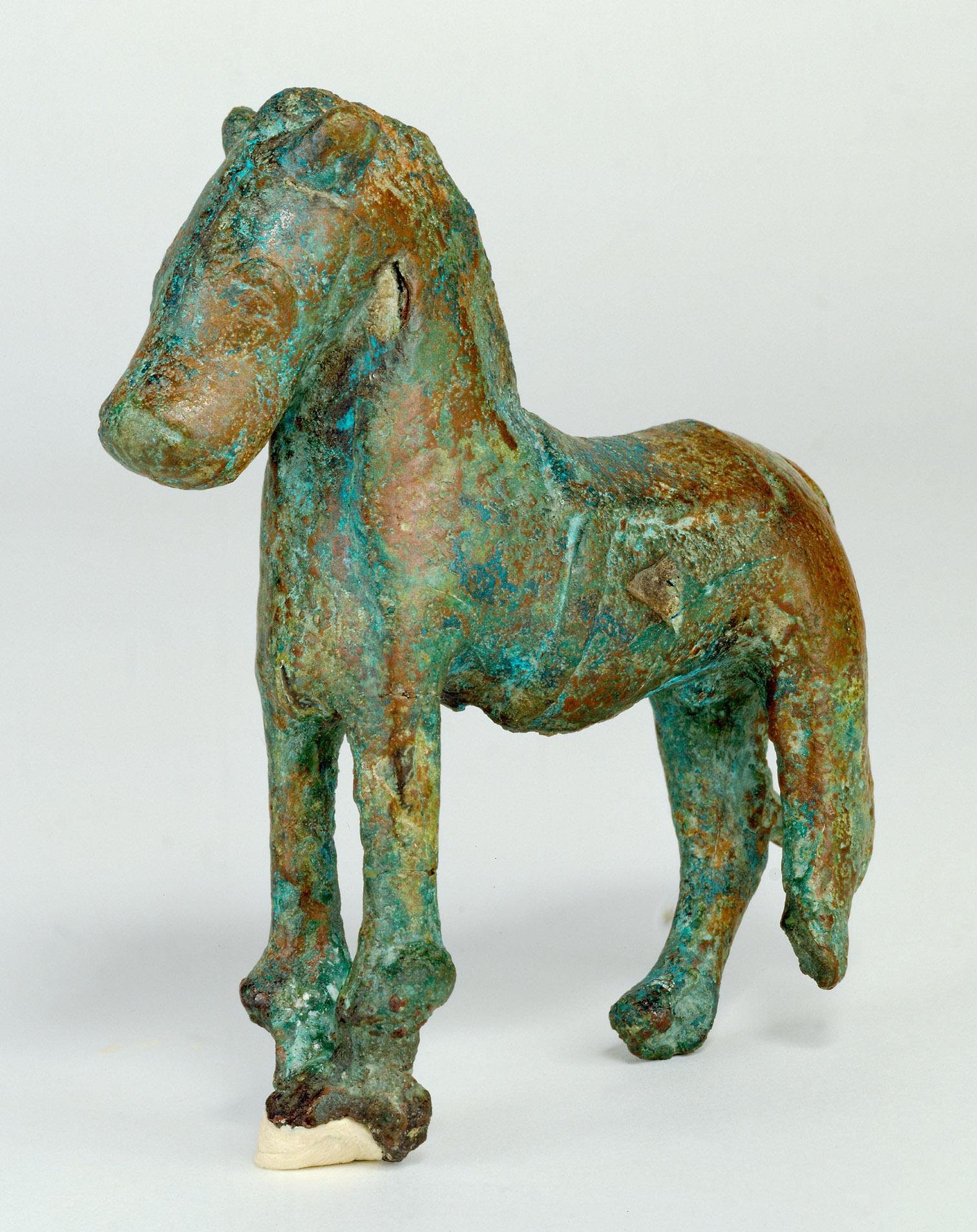 Statuette eines Pferdes