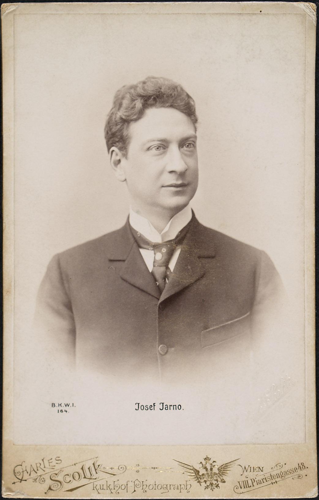 Josef Jarno von Charles Scolik, Wien