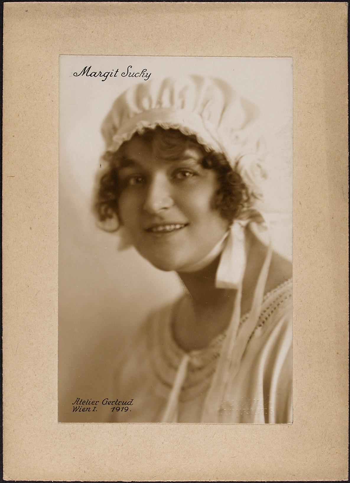 Margit Suchy von Gertrud, Wien