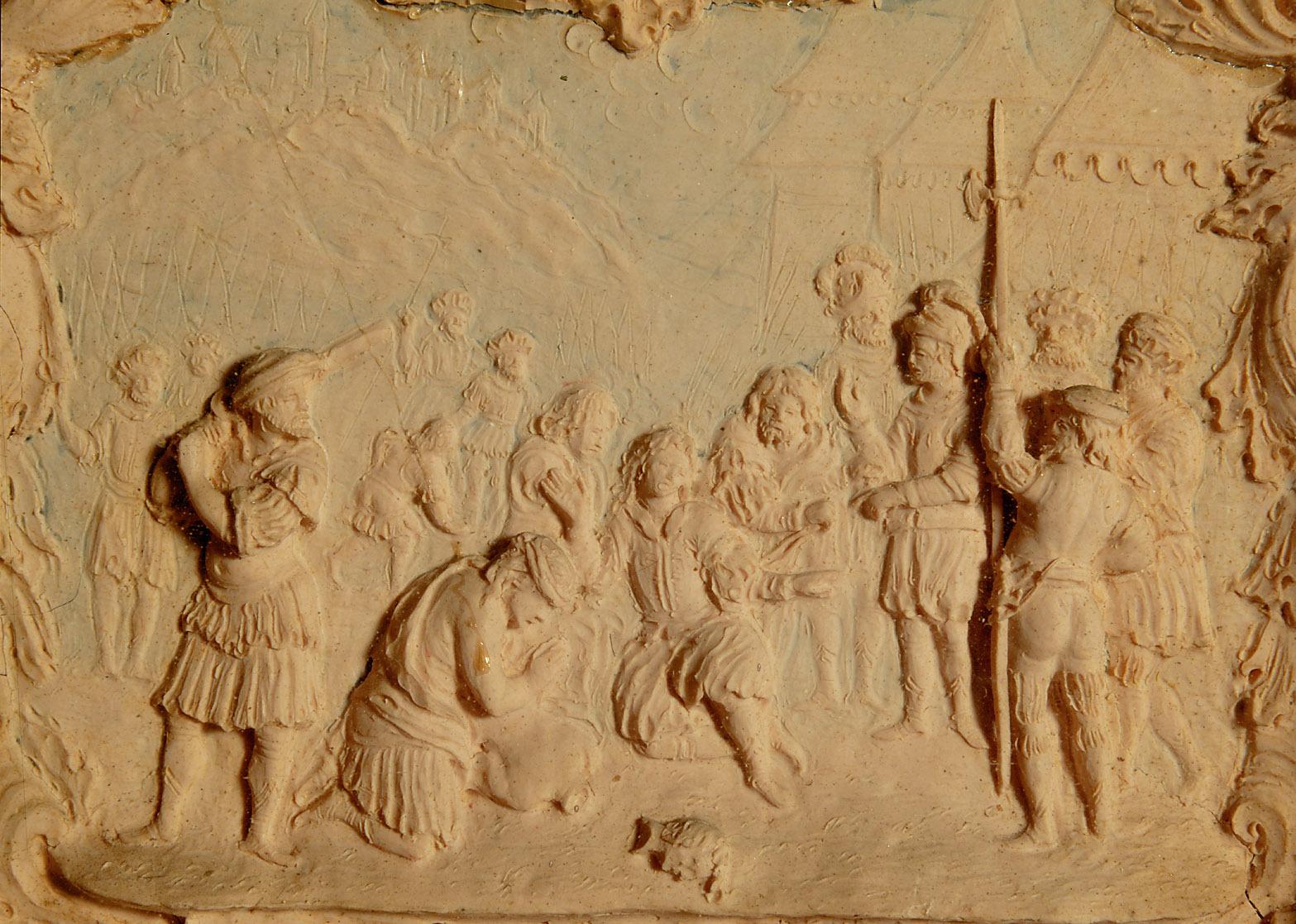 Wachsrelief von Giovanni Lampianini