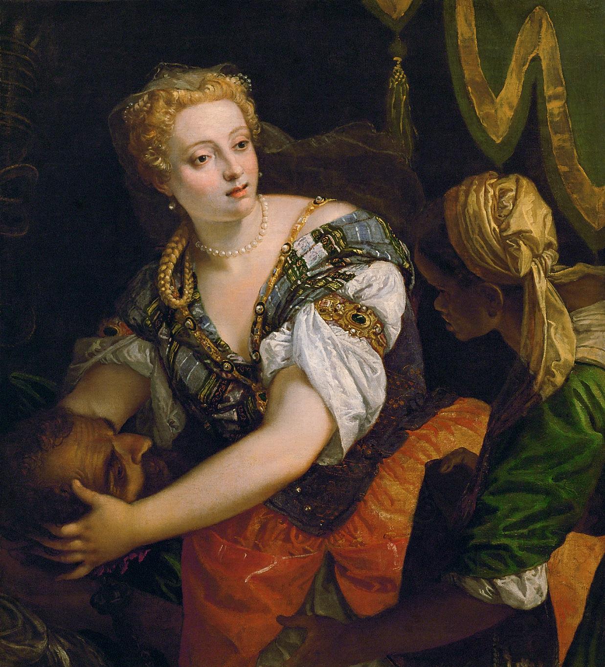 Judith mit dem Haupt des Holofernes von Paolo Caliari, gen. Veronese