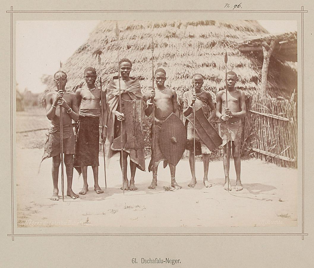 61. Dschafalu Männer von Richard Buchta