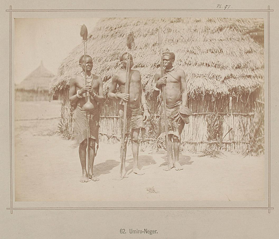 62. Umiro Männer von Richard Buchta