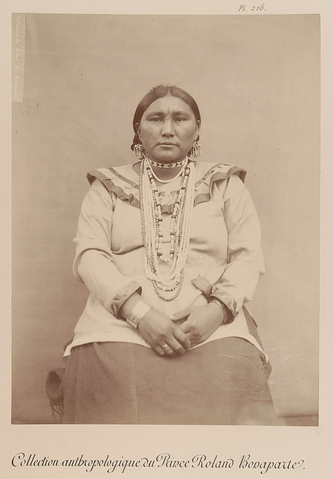 White Cow - Tessah-vih, Frau von Prinz Roland Napoléon Bonaparte