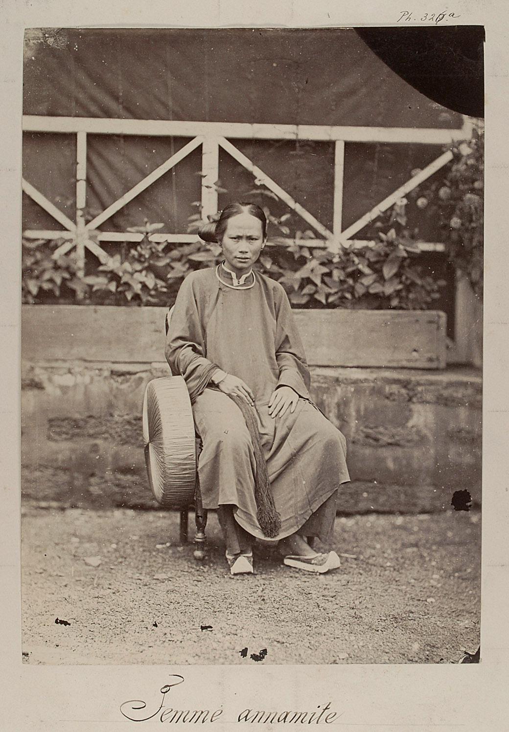 Annamitische Frau von Émile Gsell
