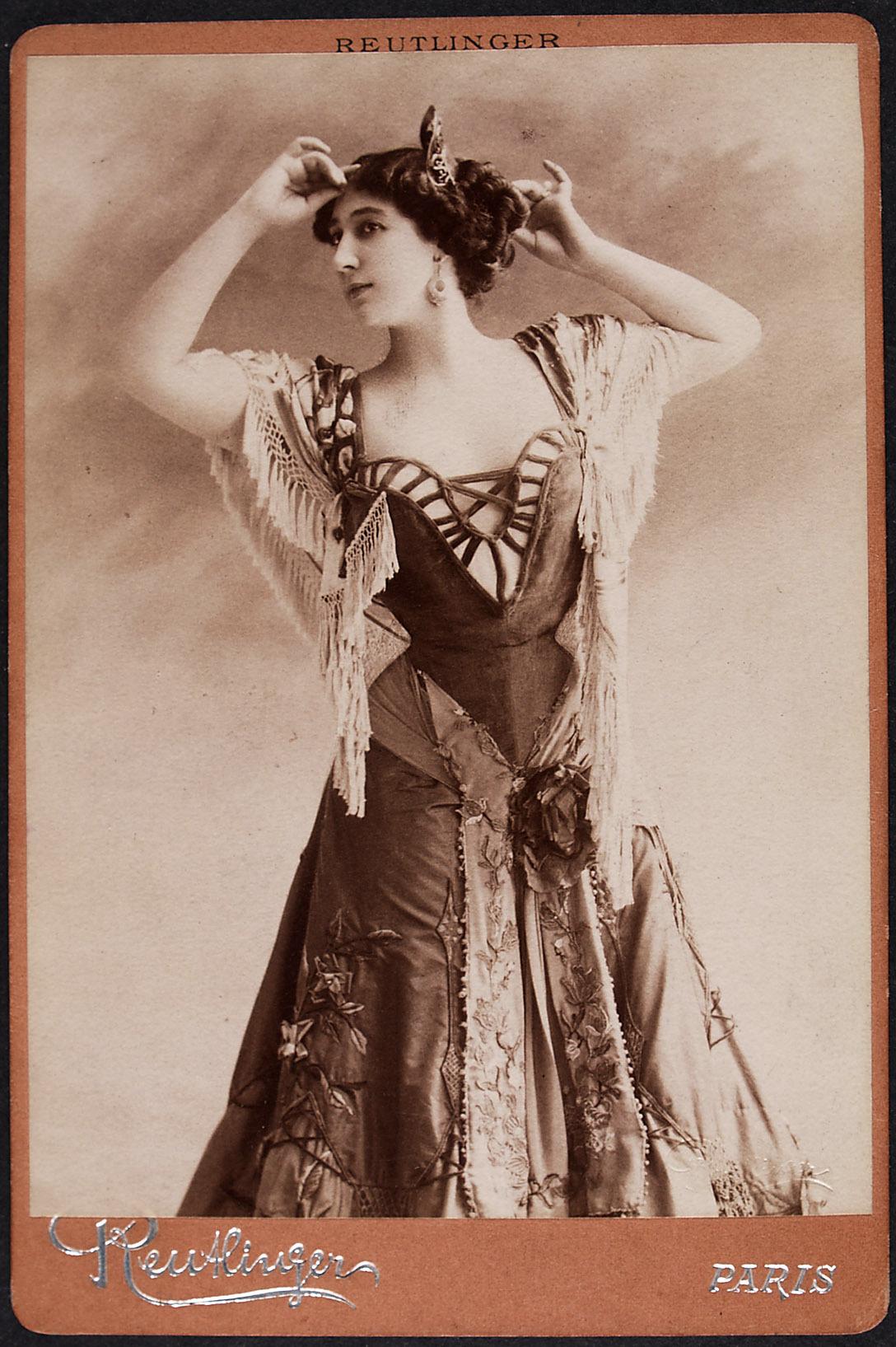 Caroline Otero von Reutlinger, Paris