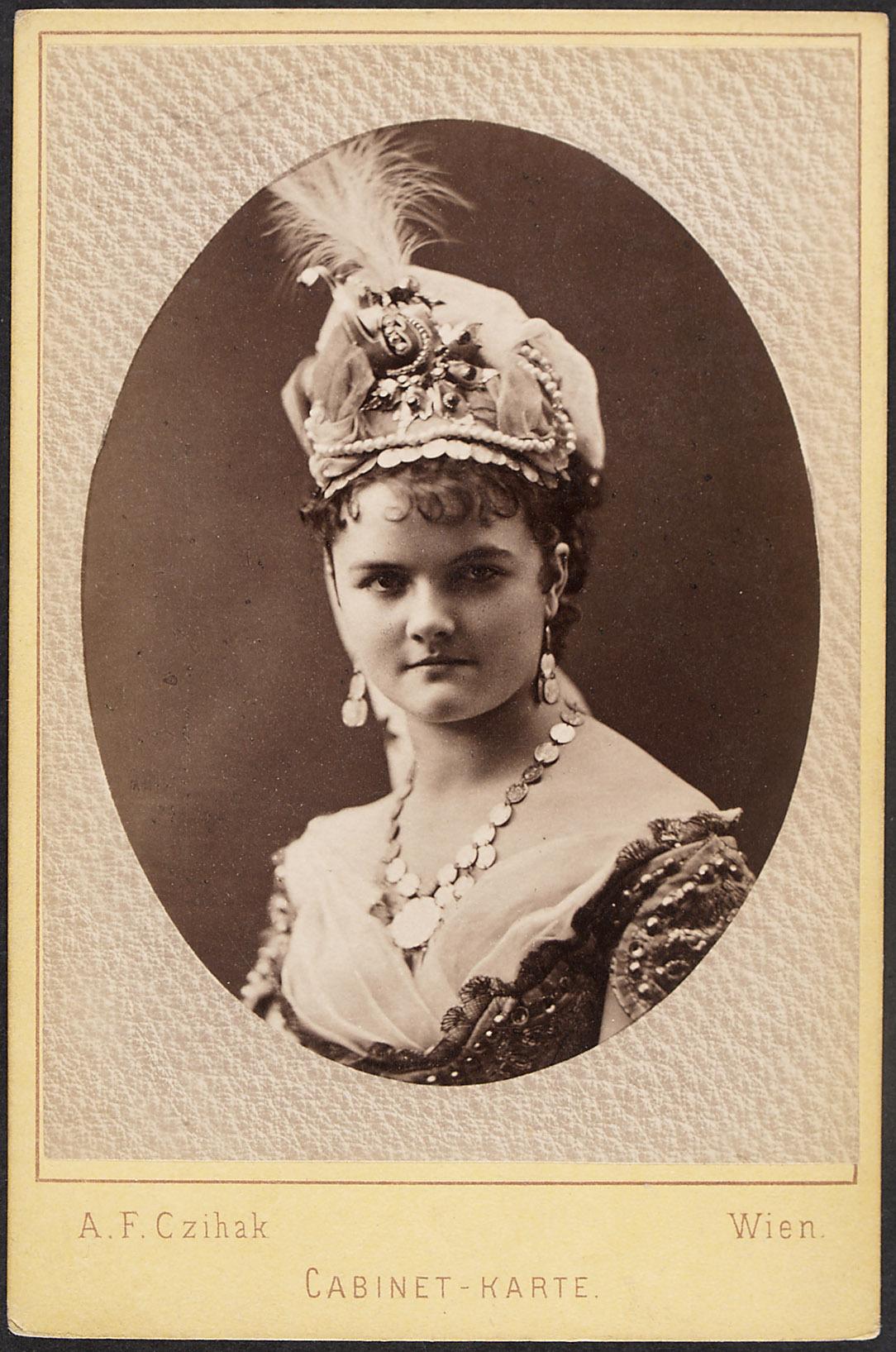 Sofie Staudinger von A. F. Czihak, Wien