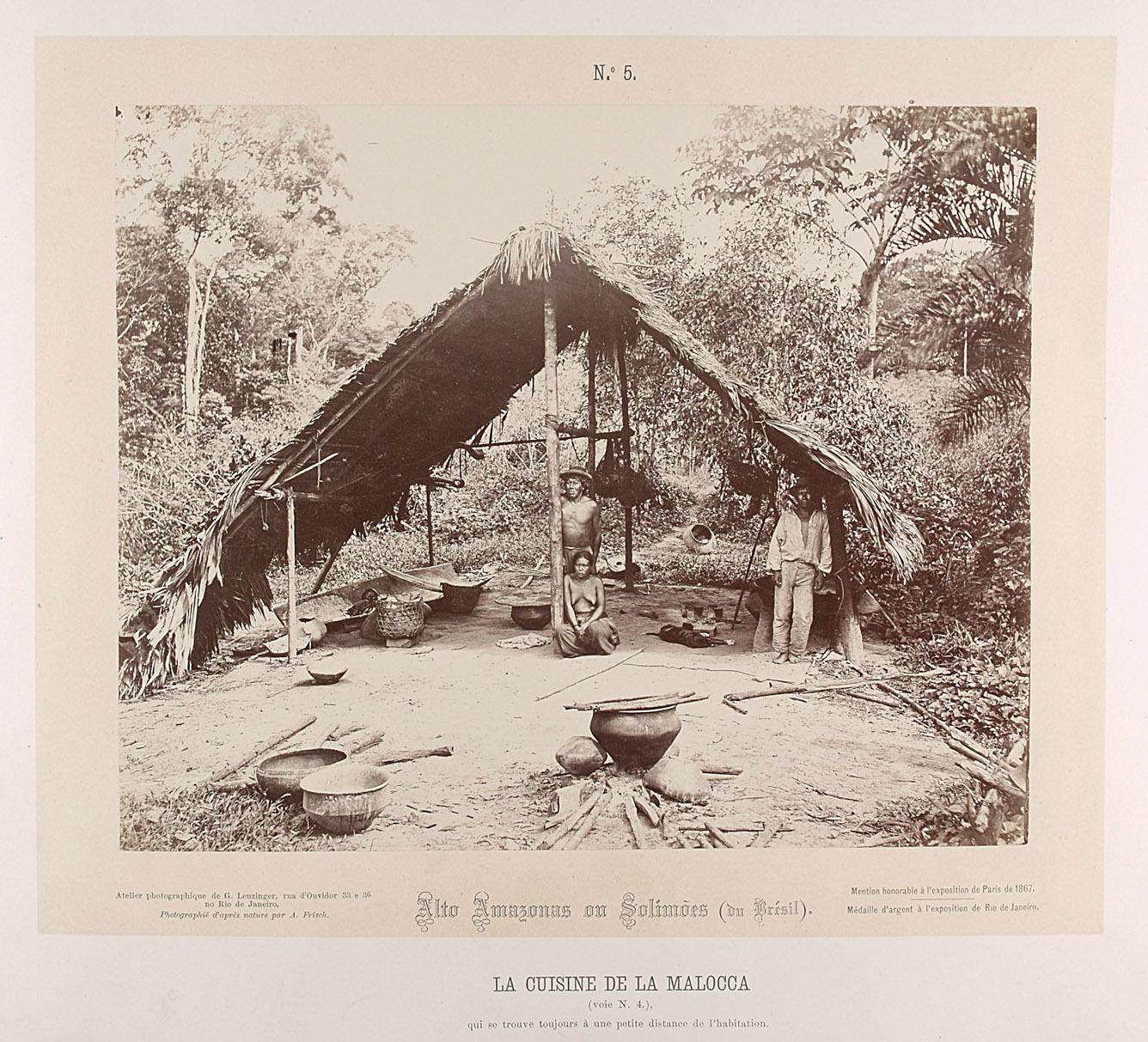 Kochhütte mit 3 Personen von Albert Frisch