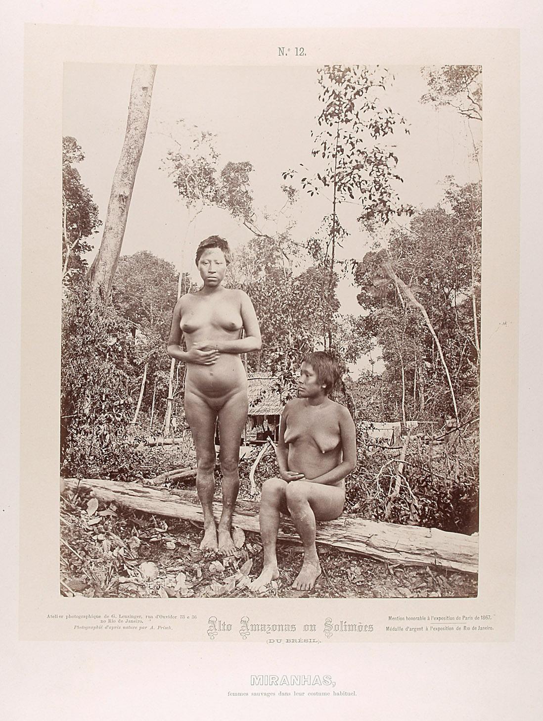 Zwei unbekleidete Frauen von Albert Frisch